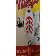 Блесна MEPPS Syclops-1 (бело-красный)