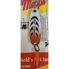 Блесна MEPPS Syclops-1 (бело-коричневый)