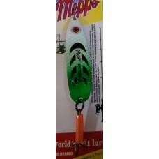 Блесна MEPPS Syclops-2 (бело-зеленый)