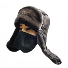 Шапка ушанка с ветрозащитной маской
