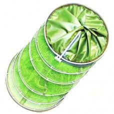 Садок рыболовный круглый светло-зеленый