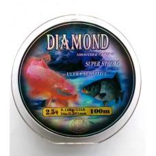 Леска GROWS CULTURE Diamond (Carp, A Crucian)