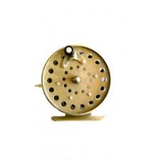 Катушка инерционная с курком золотая