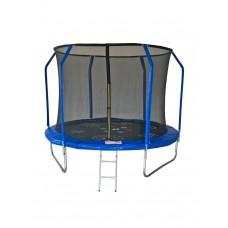 Батут с сеткой и лестницей 10-футовый Sport Elite Game FR-50-10FT (305 см)