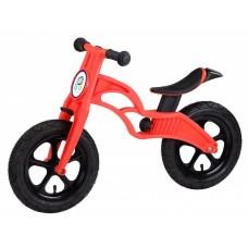 Беговел POPBIKE Flash с надувными колесами Red