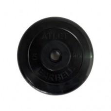 Блин для штанги обрезиненный MB Atlet d-26  5кг