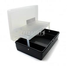 Ящик Следопыт для мелочей большой с подъемными полками 23,5х15х6,5 см PF-BU-S02