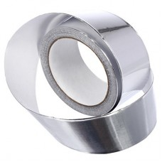 Алюминевая клейкая лента для термоизоляции Банные Штучки 48мм х 25м 3714