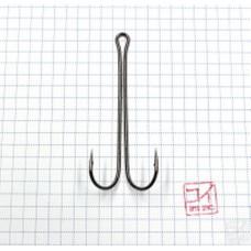 Крючок Koi 3 XL Double Hook № 3/0 , BN, двойник (10 шт.) KH2421-3/0BN
