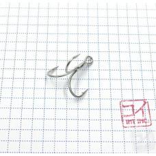 Крючок Koi 6066 № 8, MT, тройник (10 шт.) KH3341-8MT