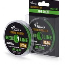 Леска Allvega Fishing Master 30м 0,310мм (7,5кг) зеленая