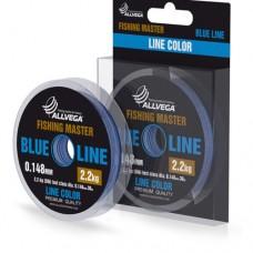 Леска Allvega Fishing Master 30м 0,370мм (10,5кг) голубая