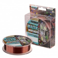 Леска Akkoi Mask Feeder 0,184мм 150м Dark Brown MFE150/0.184