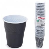 Одноразовые стаканы пластиковые 155 мл Лайма Бюджет 50 шт 601417