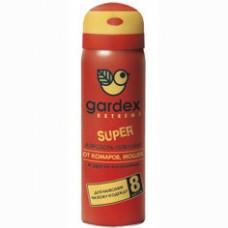 Аэрозоль Gardex Extreme Super от комаров, мошек и слепней 80мл (0140)